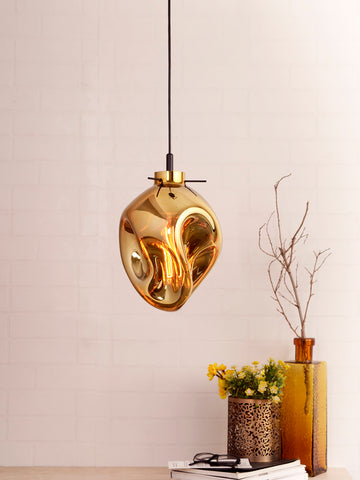 Bubble Gold Luxury Pendant Lamp | Buy Hanging Lights Online India