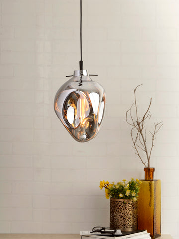 Bubble Silver Luxury Pendant Lamp | Buy Hanging Lights Online India