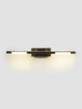 Cresta LED 2-Light Gold Bathroom Light | Buy LED Wall Lights Online India