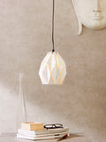 Caviar Tall White Pendant Lamp | Buy Luxury Hanging Lights Online India