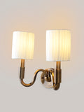 Kurt White Gold Wall Lamp | Buy Traditional Wall Light Online India