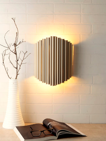Corwin Gold Wall Lamp | Buy Luxury Wall Light Online India