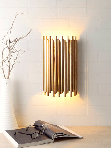 Marvin Gold Wall Lamp | Buy Luxury Wall Light Online India