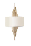 Erwin White Gold Wall Lamp | Buy Luxury Wall Light Online India