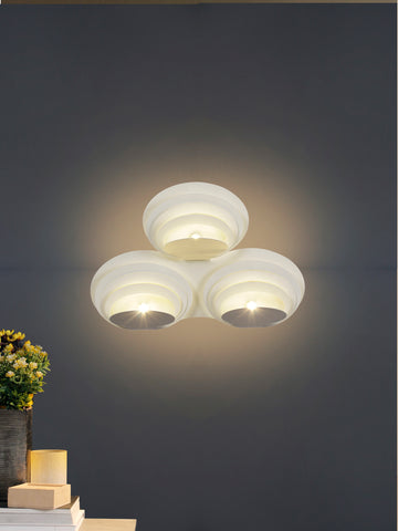 Concentric 3-Light Wall Lamp | Buy LED Wall Light Online India