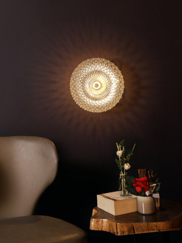 Landon Clear | Buy Wall Lights Online in India | Jainsons Emporio Lights