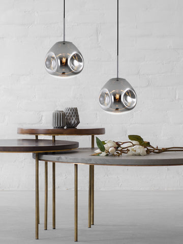 Diego Silver Hanging Light | Buy Modern Ceiling Lights Online India