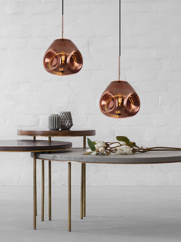 Diego Copper Hanging Light | Buy Modern Ceiling Lights Online India