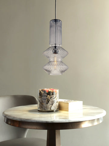 Faron Glass Hanging Light | Buy Modern Ceiling Lights Online India