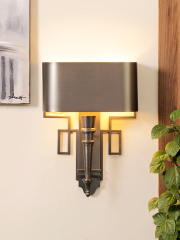 Spear Silver Contemporary Wall Lamp| Buy Luxury Wall Lights Online India