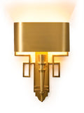 Spear Gold Contemporary Wall Lamp| Buy Luxury Wall Lights Online India