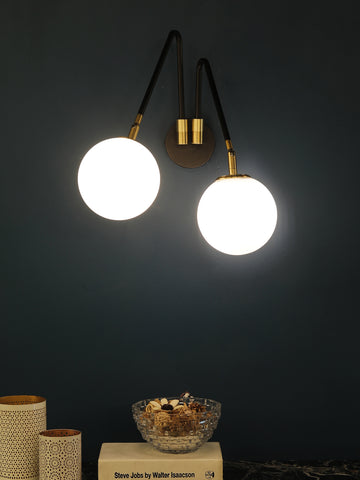 Milton Globe Wall Light | Buy Modern Wall Lights Online India