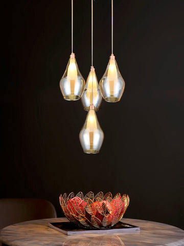Aliso 4-Lamp | Buy LED Chandeliers Online in India | Jainsons Emporio Lights