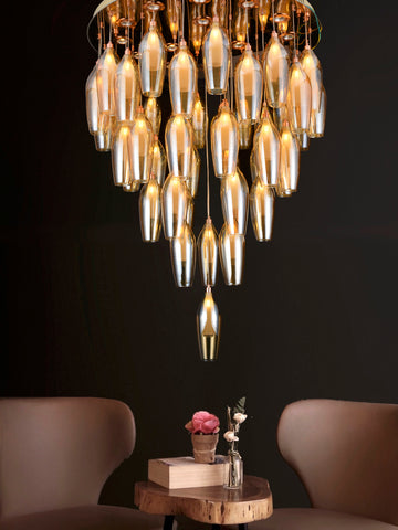 Ansel 48-Lamp | Buy LED Chandeliers Online in India | Jainsons Emporio Lights