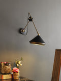Alwin Black Wall Light | But Swing Arm Wall Lights Online India