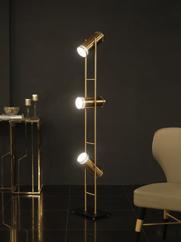 Samuel Gold Floor Lamp | Buy Modern Floor Lamps Online India