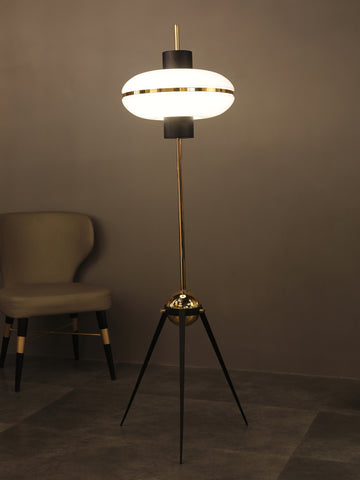 Ellipse Tripod Floor Lamp | Buy Modern Floor Lamps Online India