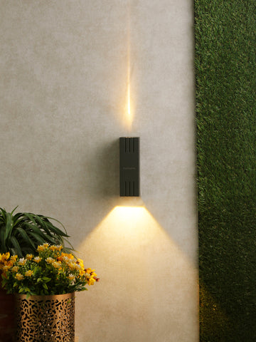 Rubix Up-Down LED Outdoor Wall Light | Buy LED Outdoor Lights Online India