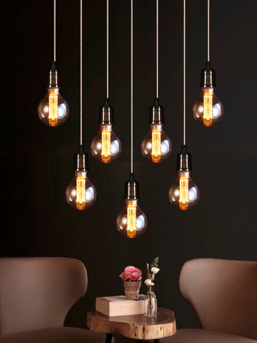 Clifton 7-Lamp | Buy Filament Bulbs Online in India | Jainsons Emporio Lights