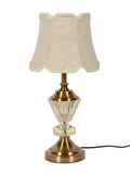 Jacob White Gold Table Lamp | Buy Luxury Table Lamps Online India