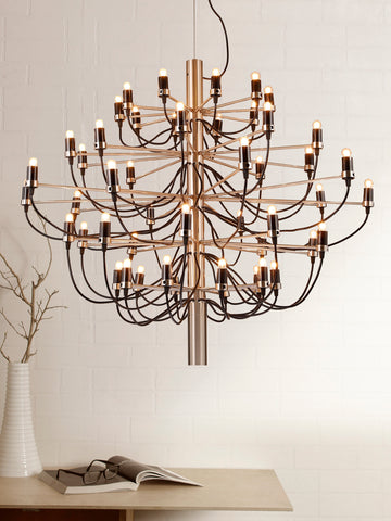 Candelic Black Gold Designer Chandelier | Buy Luxury Chandeliers Online India