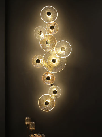 Dryce Disc Wall Light | Buy Designer LED Wall Lights Online India