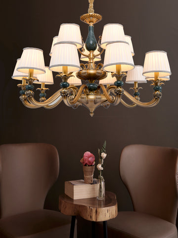 Robyn Transitional LED Chandelier | Buy Vintage LED Chandeliers Online India