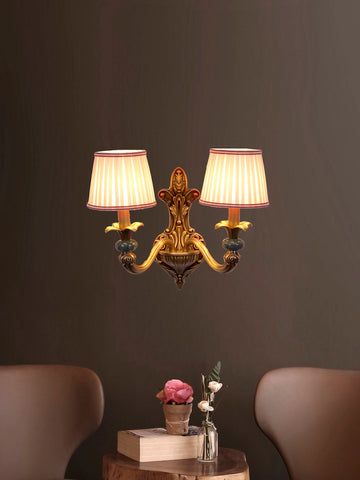 Robyn Copper Wall Lamp| Buy Luxury Wall Lights Online India