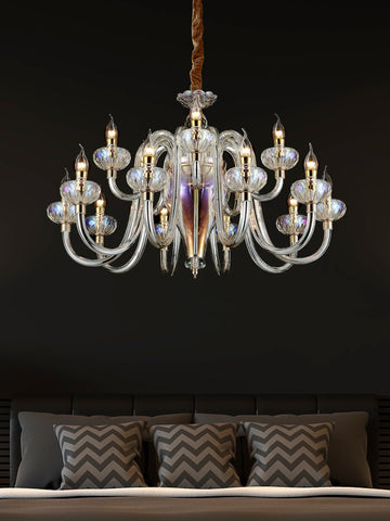 Davina Modern Crystal Chandelier | Buy Decorative Chandeliers Online India