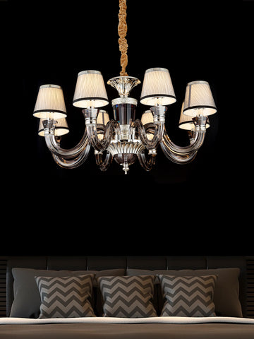 Isobel Modern Crystal Chandelier | Buy Decorative Chandeliers Online India
