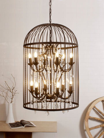 Birdcage Traditional Pendant Lamp | Buy Luxury Hanging Lights Online India