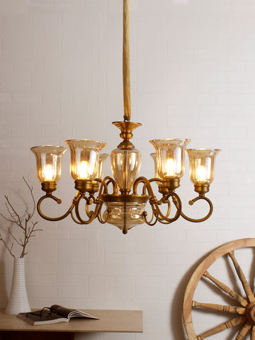 Mabel 6-Lamp Traditional Chandelier | Buy Luxury Chandeliers Online India