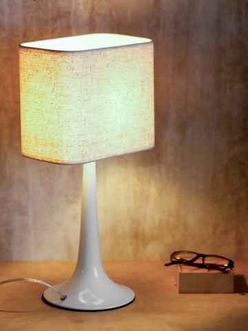 Monero White Contemporary Table Lamp | Buy Luxury Table Lamps Online India