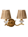 Fabel 2-Lamp Traditional Wall Lamp | Buy Luxury Wall Light Online India