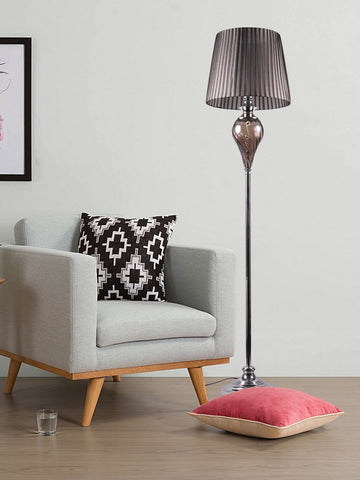 Winston Modern Silver Floor Lamp | Buy Modern Floor Lamps Online India