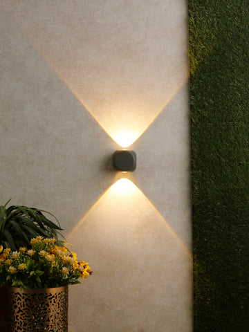 Nate LED Outdoor Wall Light | Buy LED Outdoor Lights Online India