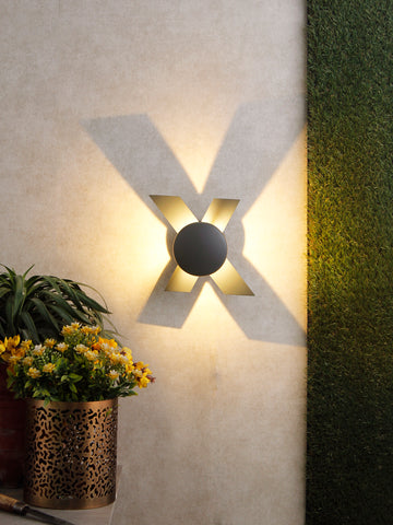 Cross LED Outdoor Wall Light | Buy LED Outdoor Lights Online India