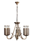 Serville 3-Lamp Vintage Chandelier Buy Luxury Chandeliers Online India