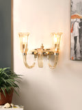Treple Crystal Wall Lamp| Buy Luxury Wall Lights Online India
