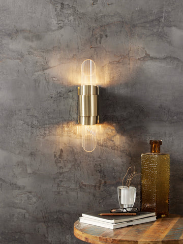 Parish Gold LED Wall Light | Buy LED Wall Lights Online India