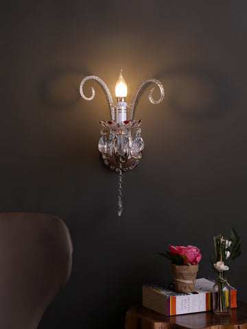 Fedrick Traditional Gold Wall Lamp | Buy Classic Wall Light Online India