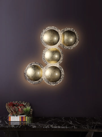 Oran 5-Lamp | Buy Wall Lights Online in India | Jainsons Emporio Lights