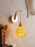 Golden Drop LED Wall Light | Buy LED Wall Lights Online India