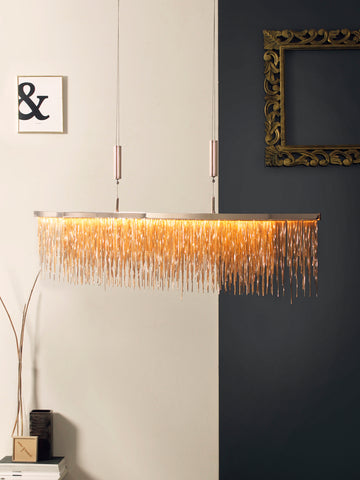 Debina Chain LED Chandelier | Buy LED Chandeliers Online India