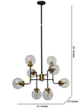 Weber Modern Chandelier | Buy Luxury Chandeliers Online India