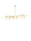Cherry Bomb Fringe 6-Light Designer Chandelier | Buy Luxury Chandeliers Online India