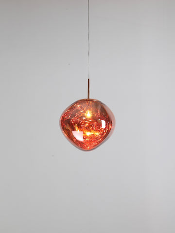 Melt Copper Pendant Lamp | Buy Luxury Hanging Lights Online India