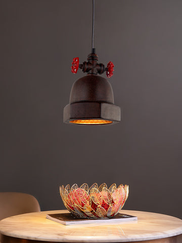 Uvora Rustic Pendant Lamp | Buy Industrial Hanging Lights Online India