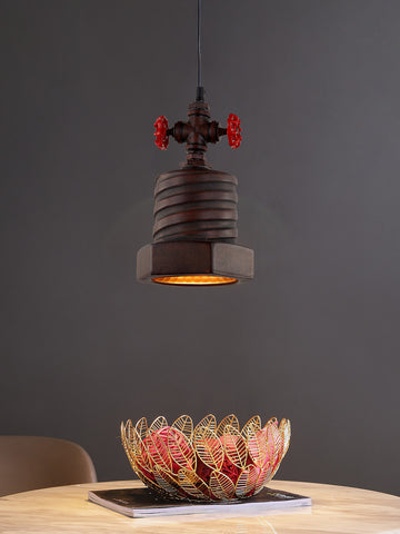 Evora Rustic Pendant Lamp | Buy Industrial Hanging Lights Online India