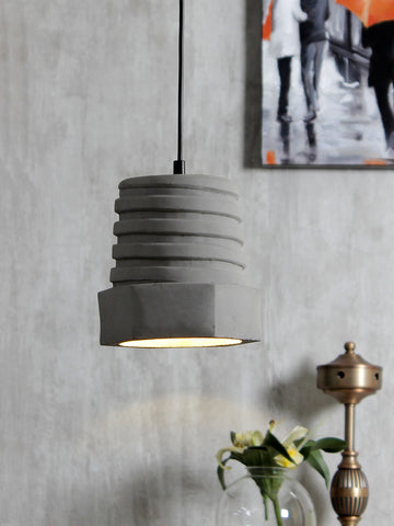 Sufian Concrete Pendant Lamp |Buy Luxury Hanging Lights Online India